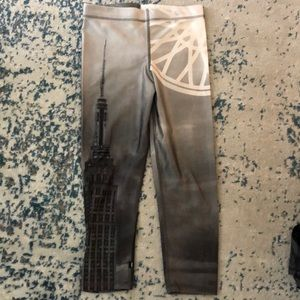 SoulCycle Zara Terri New York skyline leggings